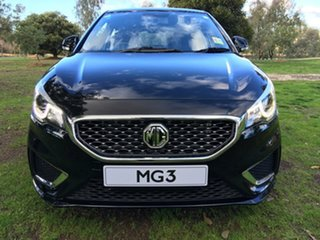 2021 MG MG3 (No Series) Excite Black Automatic Hatchback.