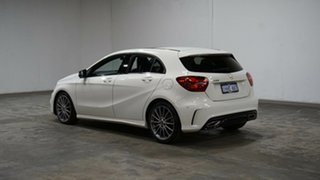 2017 Mercedes-Benz A-Class W176 808MY A200 DCT White 7 Speed Sports Automatic Dual Clutch Hatchback.