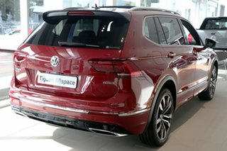 2020 Volkswagen Tiguan 5N MY21 162TSI Highline DSG 4MOTION Allspace Red 7 Speed