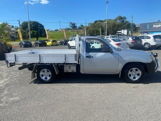 2008 Mazda BT-50 UNY0W3 DX 4x2 Silver 5 Speed Manual Cab Chassis