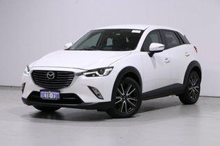 2015 Mazda CX-3 DK S Touring (AWD) White 6 Speed Automatic Wagon.