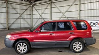2007 Subaru Forester 79V MY07 X AWD Red 4 Speed Automatic Wagon