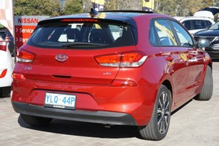2017 Hyundai i30 PD MY18 Premium D-CT Fiery Red 7 Speed Sports Automatic Dual Clutch Hatchback