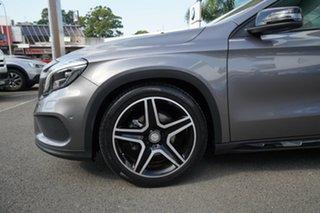 2015 Mercedes-Benz GLA200D X156 MY16 Mountain Grey 7 Speed Auto Dual Clutch Wagon.