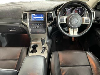 2012 Jeep Grand Cherokee WK MY2012 Overland Black 5 Speed Sports Automatic Wagon
