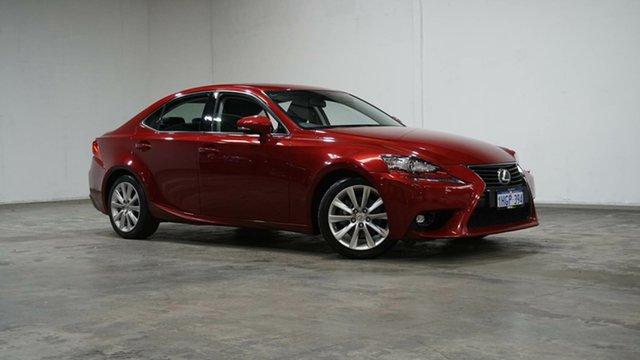 Used Lexus IS GSE30R IS250 Luxury Welshpool, 2015 Lexus IS GSE30R IS250 Luxury Red 6 Speed Sports Automatic Sedan