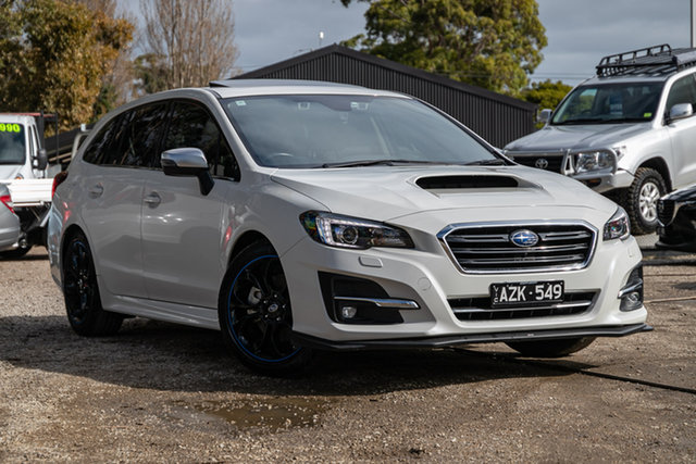 Used Subaru Levorg V1 MY18 1.6 GT CVT AWD Premium Mornington, 2017 Subaru Levorg V1 MY18 1.6 GT CVT AWD Premium White 6 Speed Constant Variable Wagon