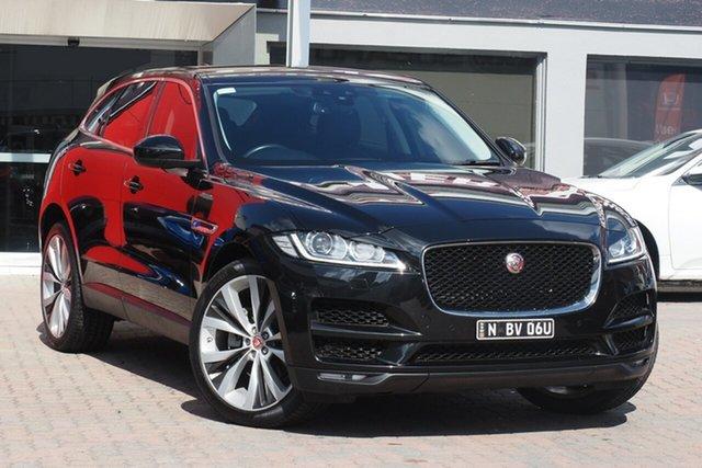 Used Jaguar F-PACE X761 MY17 Prestige Parramatta, 2016 Jaguar F-PACE X761 MY17 Prestige Black 8 Speed Sports Automatic Wagon