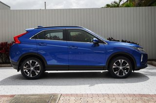 2019 Mitsubishi Eclipse Cross YA MY19 ES 2WD Lightning Blue 8 Speed Constant Variable Wagon.