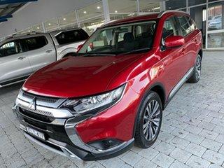 2019 Mitsubishi Outlander ZL MY19 ES Red Constant Variable Wagon.