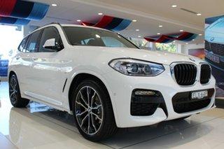 2020 BMW X3 G01 xDrive20d Steptronic Alpine White 8 Speed Sports Automatic Wagon.