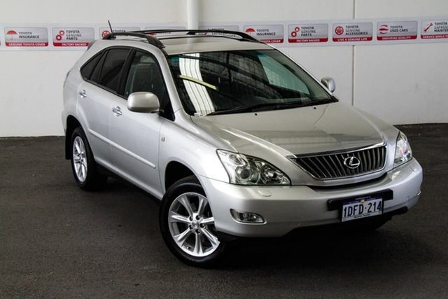 Pre-Owned Lexus RX350 GSU35R 06 Upgrade Sports Luxury Myaree, 2007 Lexus RX350 GSU35R 06 Upgrade Sports Luxury Silver Metallic 5 Speed Sequential Auto Wagon