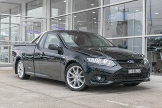 2013 Ford Falcon FG MkII XR6 Ute Super Cab Black 6 Speed Sports Automatic Utility.