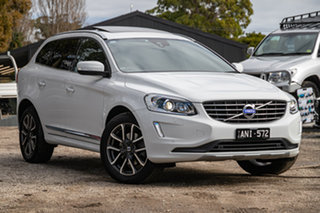 2017 Volvo XC60 DZ MY17 T5 Geartronic AWD Luxury White Solid Ice White 8 Speed Sports Automatic.