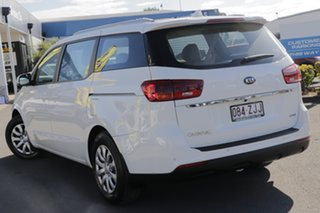 2019 Kia Carnival YP MY20 S Clear White 8 Speed Sports Automatic Wagon.