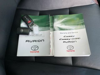2015 Toyota Aurion GSV50R Sportivo Silver 6 Speed Sports Automatic Sedan