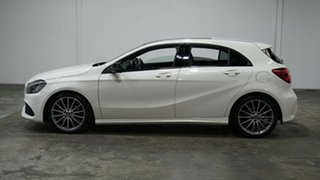 2017 Mercedes-Benz A-Class W176 808MY A200 DCT White 7 Speed Sports Automatic Dual Clutch Hatchback