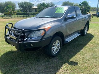 2012 Mazda BT-50 XTR Grey 6 Speed Manual Crewcab.