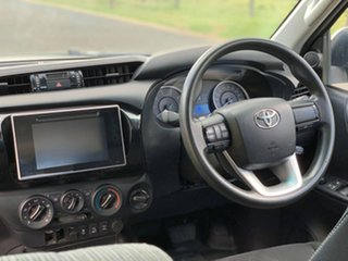 2019 Toyota Hilux GUN126R SR Double Cab Glacier White 6 Speed Sports Automatic Cab Chassis