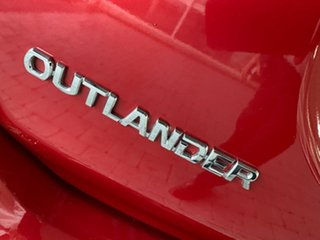 2019 Mitsubishi Outlander ZL MY19 ES Red Constant Variable Wagon