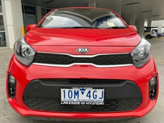 2018 Kia Picanto JA MY18 S Red 4 Speed Automatic Hatchback