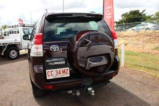 2010 Toyota Landcruiser Prado KDJ150R GXL Dark Furnace 6 Speed Manual Wagon