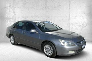 2006 Honda Accord 7th Gen MY07 V6 Luxury Silver 5 Speed Automatic Sedan.