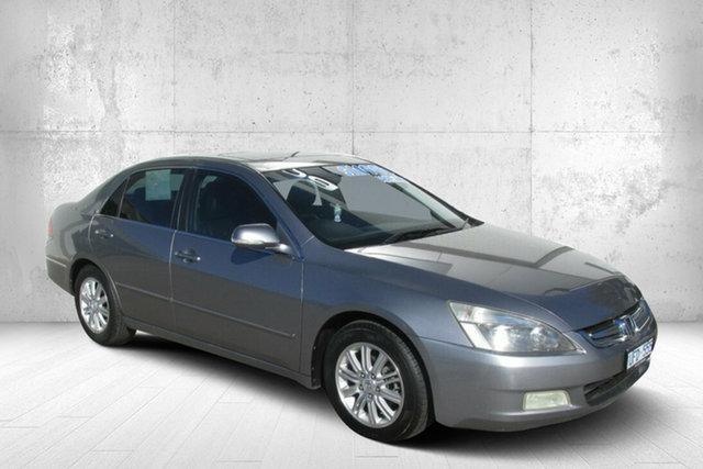 Used Honda Accord 7th Gen MY07 V6 Luxury Bendigo, 2006 Honda Accord 7th Gen MY07 V6 Luxury Silver 5 Speed Automatic Sedan