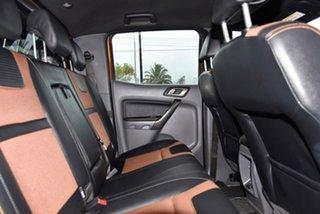 2018 Ford Ranger PX MkII 2018.00MY Wildtrak Double Cab Orange 6 Speed Sports Automatic Utility