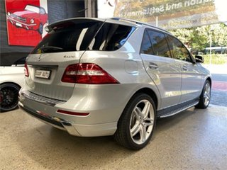 2013 Mercedes-Benz M-Class W166 ML500 Silver Sports Automatic Wagon