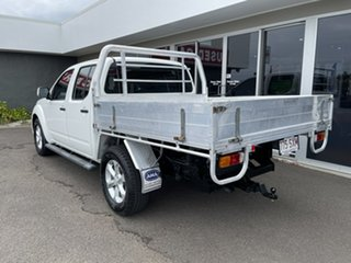 2012 Nissan Navara D40 S6 MY12 ST 4x2 White 5 Speed Sports Automatic Utility.