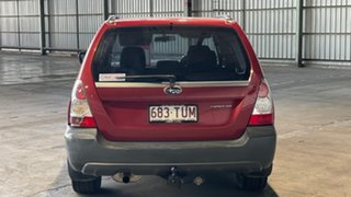 2007 Subaru Forester 79V MY07 X AWD Red 4 Speed Automatic Wagon.