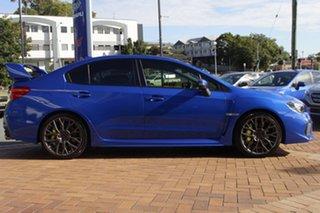 2017 Subaru WRX V1 MY18 STI AWD spec.R Blue 6 Speed Manual Sedan.