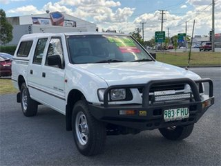 2007 Holden Rodeo RA DX White 5 Speed Manual Cab Chassis.