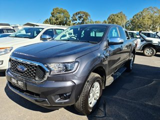 2020 Ford Ranger PX MkIII 2021.25MY XLT Grey 6 Speed Sports Automatic Super Cab Pick Up.