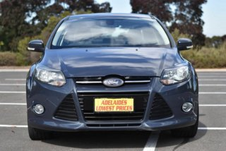 2012 Ford Focus LW MkII Titanium PwrShift Grey 6 Speed Sports Automatic Dual Clutch Sedan.