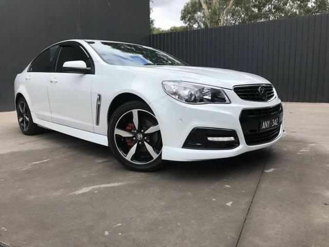 Used Holden Commodore VF MY15 SV6 Fawkner, 2015 Holden Commodore VF MY15 SV6 White 6 Speed Automatic Sedan