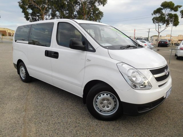 Used Hyundai iLOAD TQ2-V MY15 Crew Cab Wangara, 2015 Hyundai iLOAD TQ2-V MY15 Crew Cab White 5 Speed Automatic Van