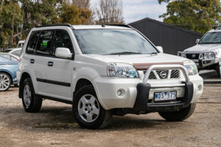 2003 Nissan X-Trail T30 ST White 4 Speed Automatic Wagon.