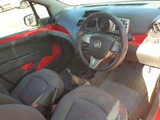 2011 Holden Barina Spark Red 5 Speed Manual Hatchback
