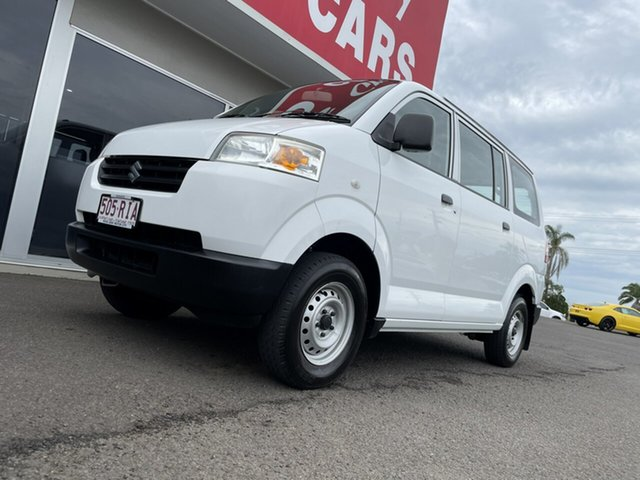 Used Suzuki APV Bundaberg, 2009 Suzuki APV White 5 Speed Manual Van