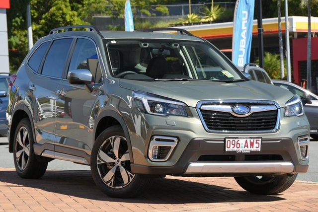 Demo Subaru Forester S5 MY21 Hybrid S CVT AWD Newstead, 2021 Subaru Forester S5 MY21 Hybrid S CVT AWD Jasper Green Metallic 7 Speed Constant Variable Wagon
