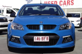 2015 Holden Special Vehicles Maloo Gen-F MY15 R8 Blue 6 Speed Manual Utility