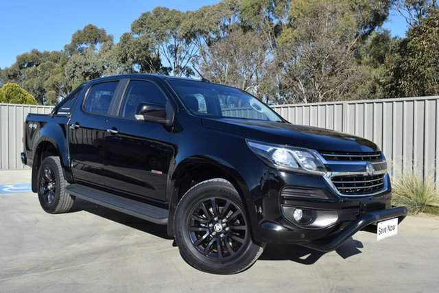 Used Holden Colorado RG MY16 LTZ Crew Cab Echuca, 2016 Holden Colorado RG MY16 LTZ Crew Cab Black 6 Speed Sports Automatic Utility