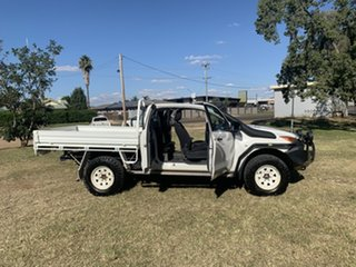 2014 Mazda BT-50 UP0YF1 XT Freestyle White 6 Speed Manual Cab Chassis