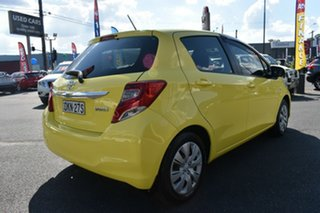 2015 Toyota Yaris NCP130R Ascent Yellow 4 Speed Automatic Hatchback