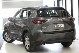 2017 Mazda CX-5 KE1032 Maxx SKYACTIV-Drive i-ACTIV AWD Machine Grey 6 Speed Sports Automatic Wagon.
