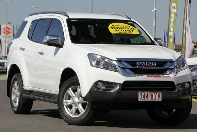 Used Isuzu MU-X MY16.5 LS-T Rev-Tronic 4x2 Aspley, 2016 Isuzu MU-X MY16.5 LS-T Rev-Tronic 4x2 White 6 Speed Sports Automatic Wagon
