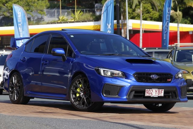 Used Subaru WRX V1 MY18 STI AWD spec.R Newstead, 2017 Subaru WRX V1 MY18 STI AWD spec.R Blue 6 Speed Manual Sedan