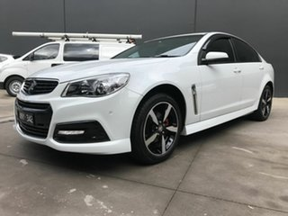 2015 Holden Commodore VF MY15 SV6 White 6 Speed Automatic Sedan.